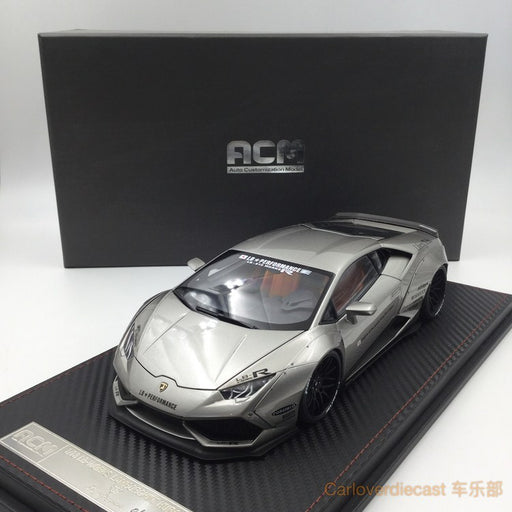 (ACM) Huracan LB Works full open  Scale 1:18 (Bullet silver)  Limited Edition available now