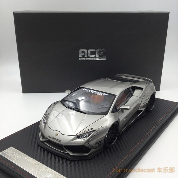 (ACM) Huracan LB Works full open  Scale 1:18 (Bullet silver)  ACM-BS Limited Edition available now