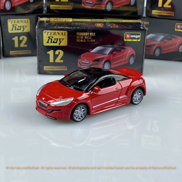 Bburago 1:64 Peugeot RCZ  (Red) 18-59000#12 diecast car model