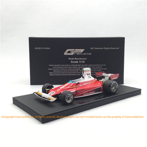 GP Replicas 1:18 Ferrari 312 T Niki Lauda 1975 #12 (GP26A) limited 250 pcs available Now