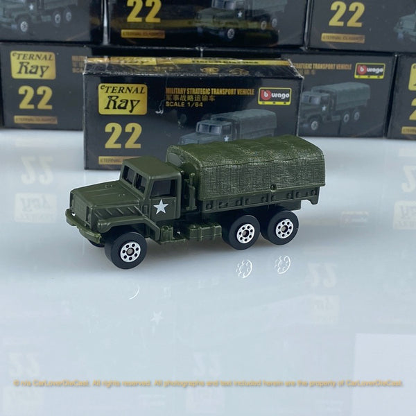 Bburago 1:64 Military Strategic Transport Vehicle 15168#22  diecast car model