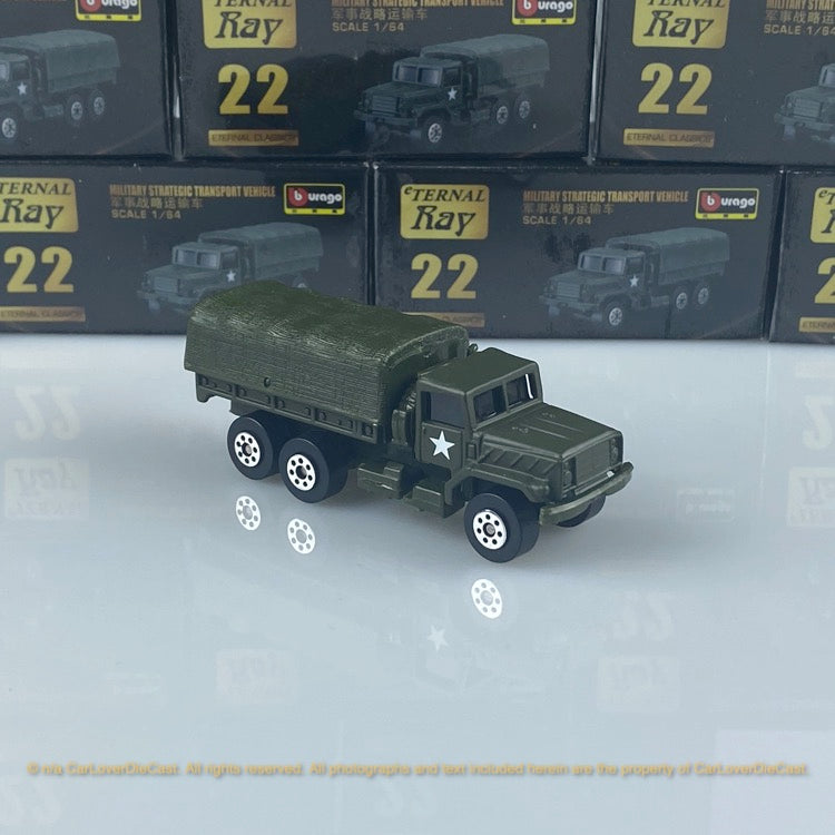 Bburago 1:64 Military Strategic Transport Vehicle 15168