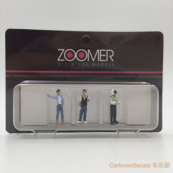 (Zoomer Miniature Models) 1:64 Police Series Included 3 figure available on July 2017 Pre-order now (ZMF6402)