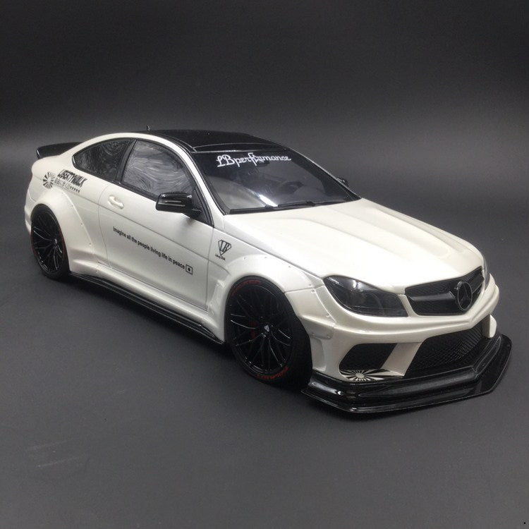 GT Spirit Mercedes Benz C63 LB works  Resin Scale 1/18 Limited 504pcs (KJ023) Exclusive by Carloverdiecast available now