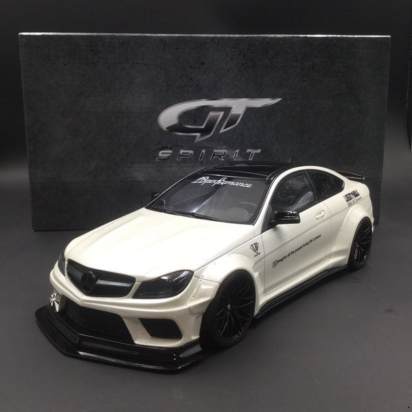 TG Spirit Mercedes Benz C63 LB works Resin Scale 1/18 Limited 504pcs (KJ023) Exclusif by Carloverdiecast available now