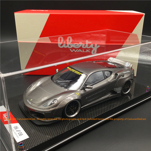 Liberty Walk 1:18 F430 (Grossy Grey) LB1867-GG resin car model available  now