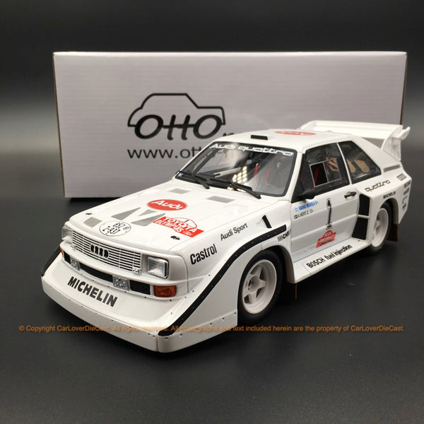OttO Mobile 1:18 Audi Sport quattro S1 Olympus Rally resin car model (OT757) limited 999 pcs