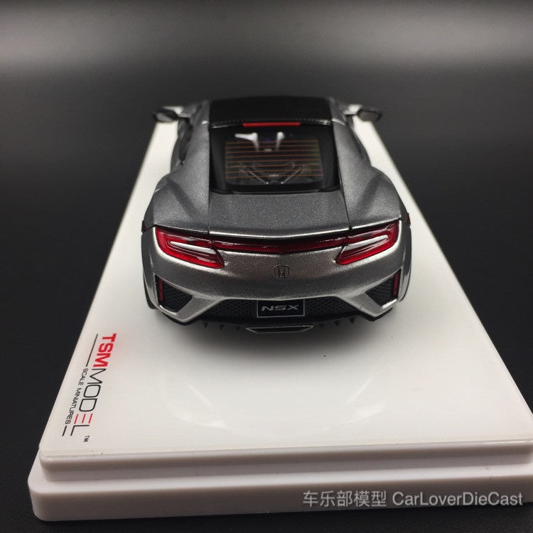 TSM-Model Honda NSX 2017 Source Silver Metallic diecast Scale 1:43  (TSM430129) available now