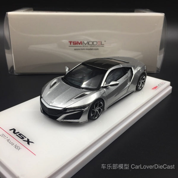 TSM-Model Acura NSX 2017 Source Silver diecast scale 1:43 (TSM430128) available now