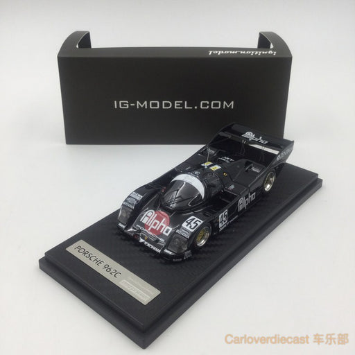 Ignition Model alpha Porsche 962C (#45) 1990 Le Mans  resin scale 1:43  (IG0529) available now