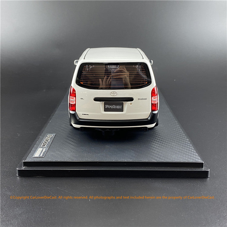 ignition Model 1:18 Toyota Probox GL (NCP51V) White (IG1642) resin car model available now