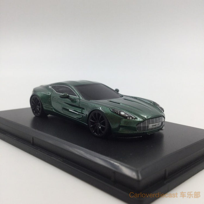 ... Aston Martin One 77 Resin Scale 1:87 (British Green) ...