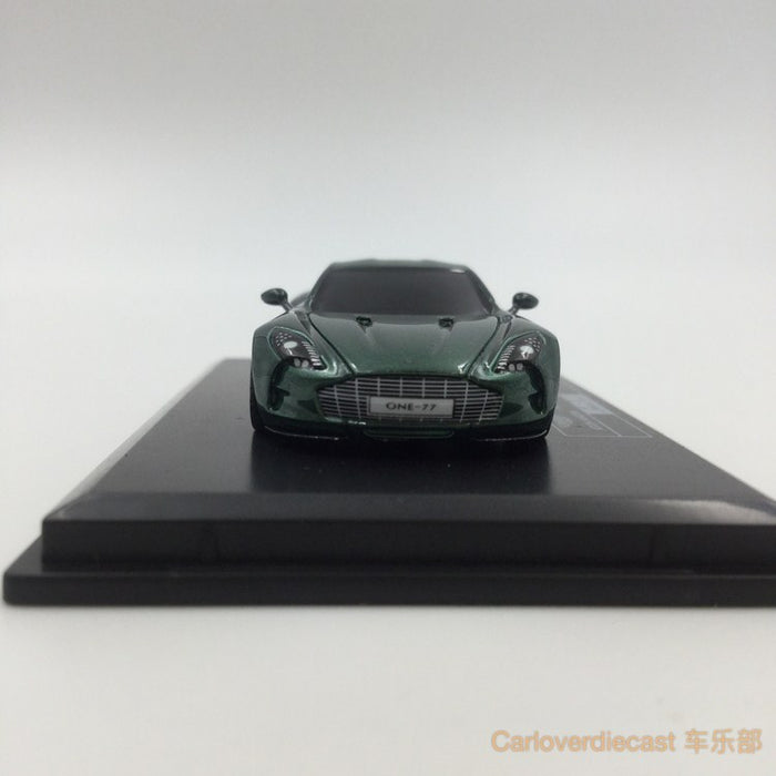 (Avanstyle) Aston Martin One 77 resin scale 1:87 (British green) Frontiart