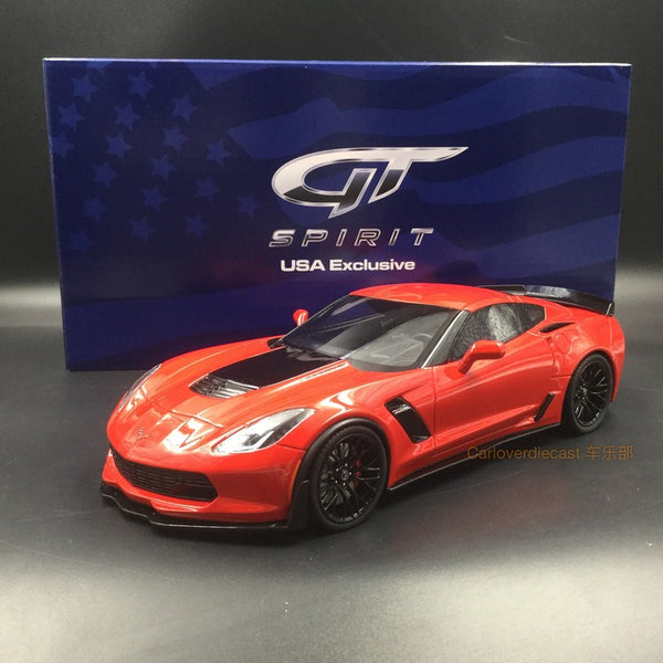 GT Spirit 1:18 Corvette Z06 resin model (US edition) US005 available now