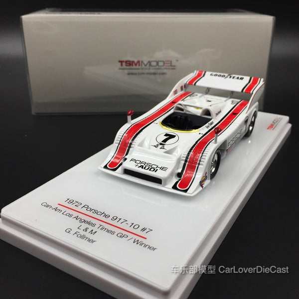 TSM-Model - Porsche 917-10 TC L&M #7 1972 CanAm L.A. GP Winner resin scale 1:43 (TSM144347)