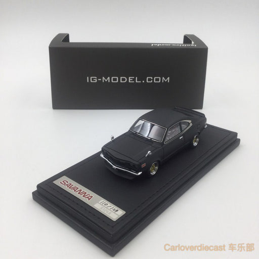 Ignition Model Mazda Savanna (S124A) Matte Black resin scale 1:43  (IG0638) available now