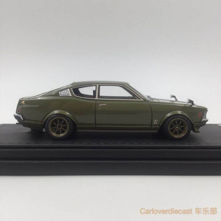 (Ignition Model) Mitsubishi Colt Galant GTO 2000GSR (A57) Green (W-Wheel)  Resin Scale 1:43 (IG0643)