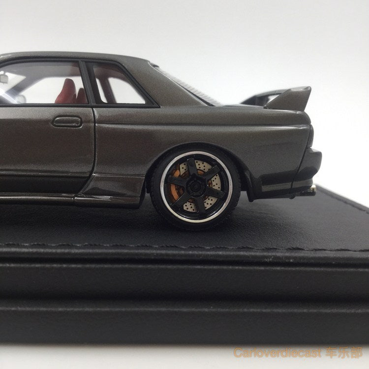 (Ignition Model) Nissan Nismo R32 GT-R S-tune Gun gray metallic (Nismo Wheel) Resin Scale 1:43 (IG0799)