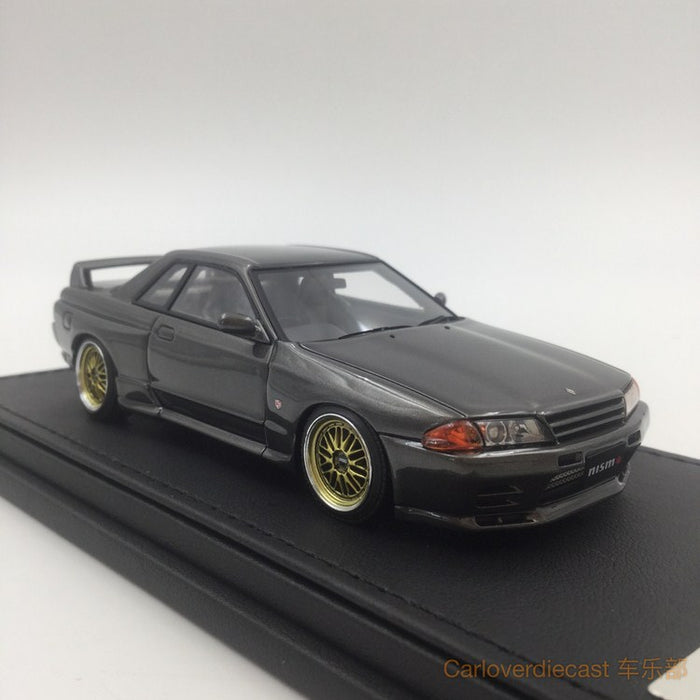 (Ignition Model) Nissan Nismo R32 GT-R S-tune Gun gray metallic (BB Wheel) Resin Scale 1:43 (IG0798)