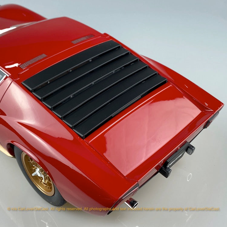 Kyosho 1:12 Lamborghini Miura P400S (red) resin model (KSR12501R-B)