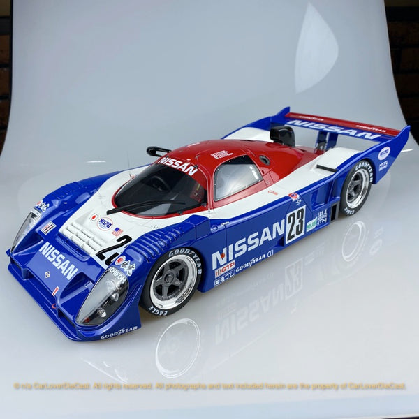 Kyosho 1:12 Nissan R91CP     #23 ( KSR08666A-B) resin car model