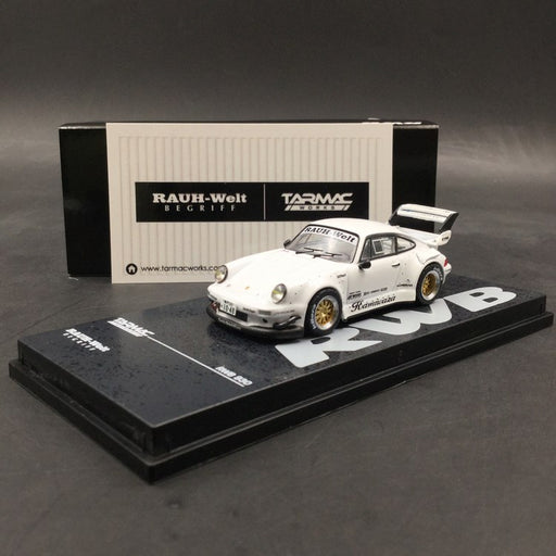 Tarmac Works 1:64 RWB 930 Kamiwaza White (T64-015-WH) DieCast car model available on now