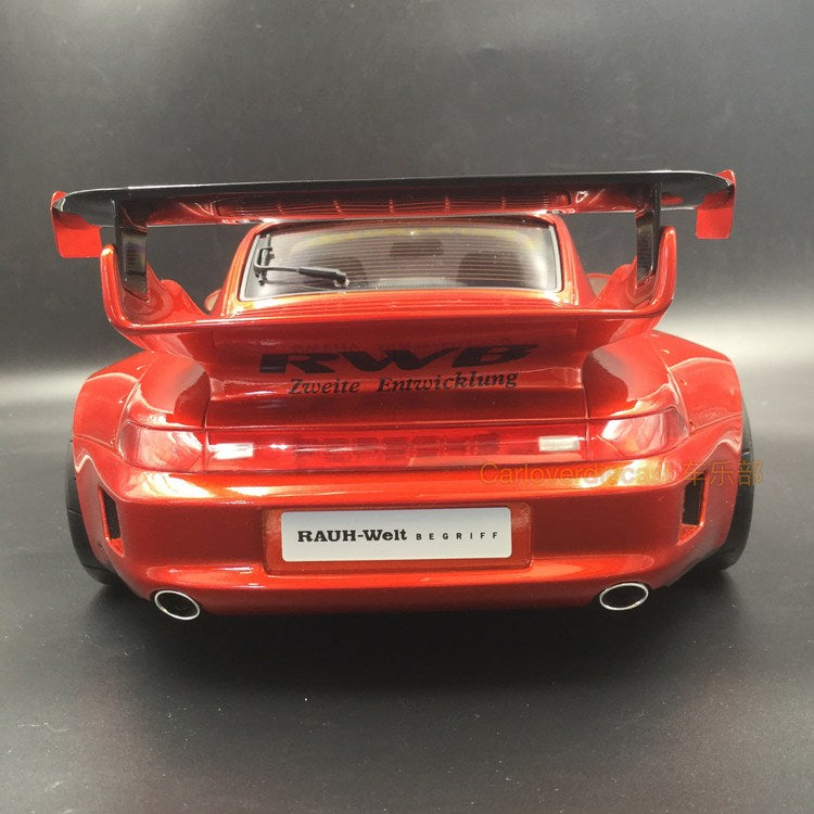 GT Spirit -   993 RWB resin Scale 1:12 CANDY RED BLACK & CHROME WHEELS (KJ019) available now