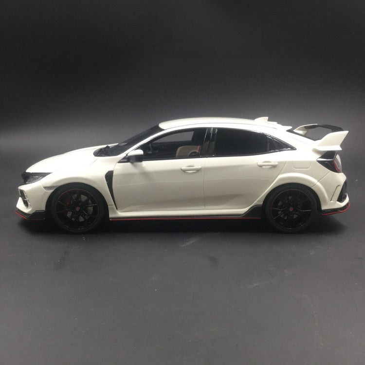 Kyosho 1:18 (Samuari) Honda Civic Type R 2017 (White) resin model Limited 700 units (KSR18029W-B)