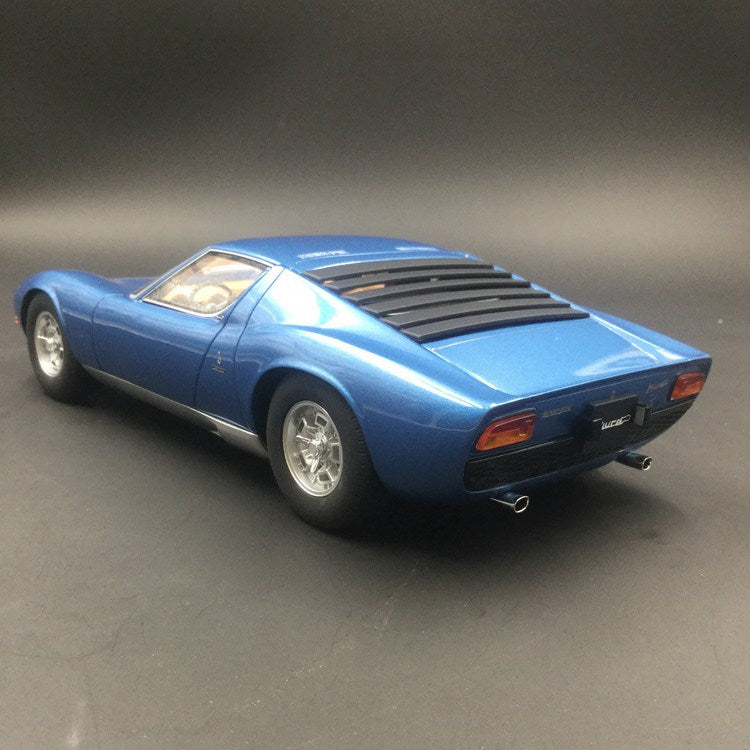 Kyosho 1:18 Lamborghini Miura P400S Resin Model (KSR18506BL) available  now