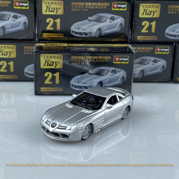 Bburago 1:64 Mercedes-Benz SLR Mclaren 18-59000#21  diecast car model