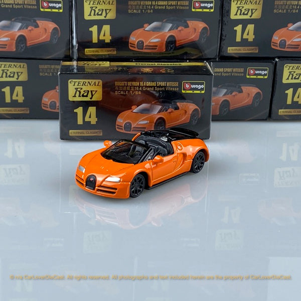 Bburago 1:64 Bugatti 16.4 Grand Sport Vitese 18-59000#14  diecast car model