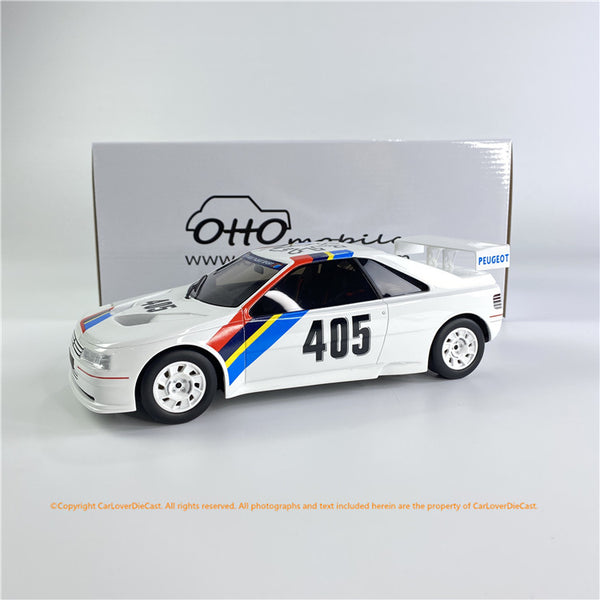 OttO Mobile 1:18 Peugeot 405 T16 Gr.S (OT850) Resin Car Model Limited 2000 units