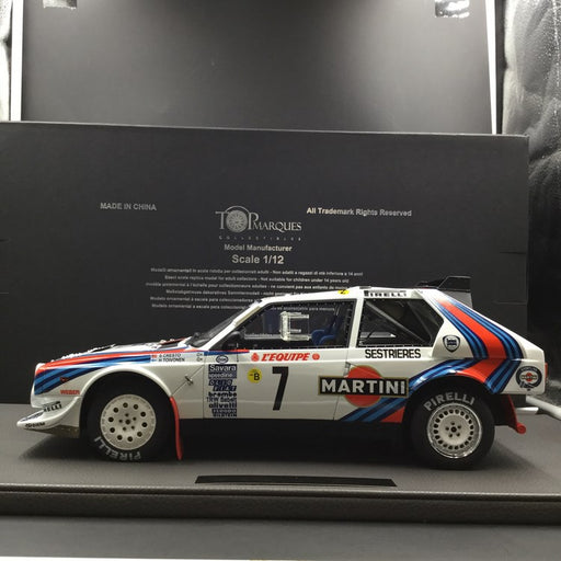 Top Marques 1:12 Lancia Delta S4 1986 champion   resin  (TMR12_04A )