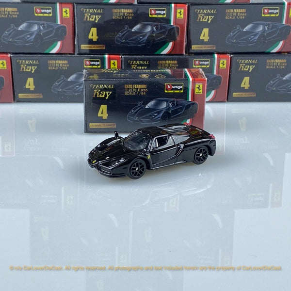 Bburago 1:64 Ferrari Enzo (Black) 18-56100#4 diecast car model