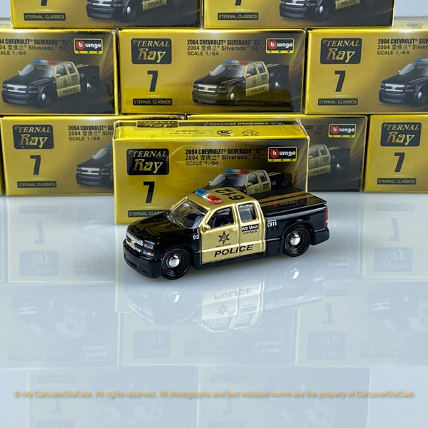 Bburago 1:64 Chevrolet SILVERADO SS 15494#7 diecast car model