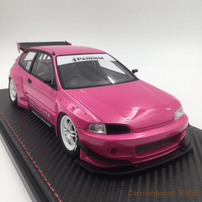 Ignition Model - Pandem Civic (EG6)Pink (EN-Whieel) available now (IG1052)