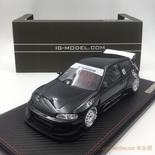Ignition Model - Pandem Civic (EG6) Black (WS-Whieel) available now (IG1055) free display cover