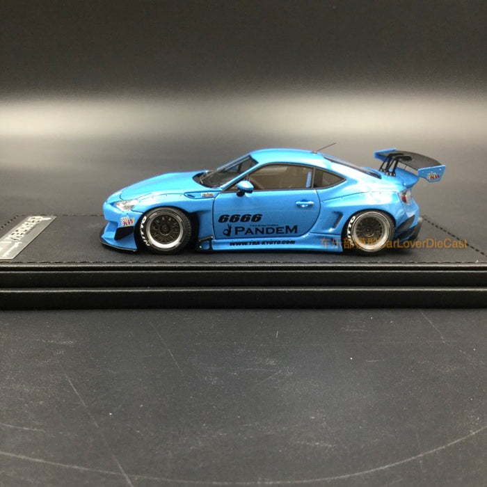 Ignition Model 1:43 Pandem Toyota 86 V3 resin model in Blue  (IG1166)