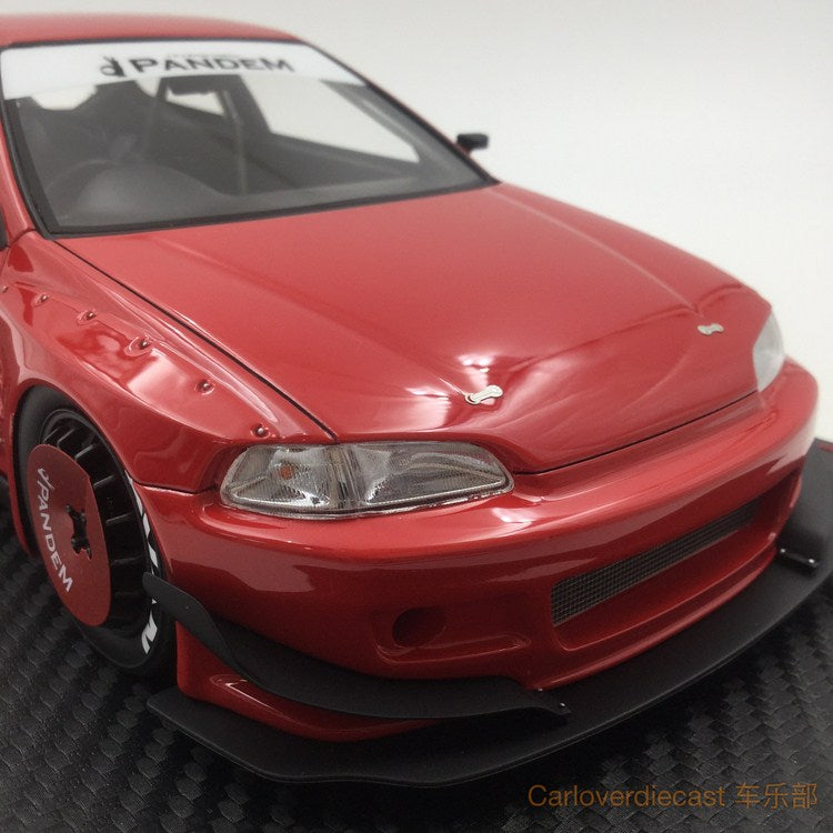 Ignition Model - Pandem Civic (EG6) Red (RB-Whieel) available now (IG1050)