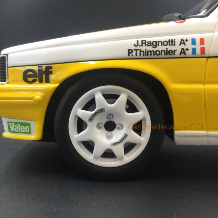 OTTO Mobile Renault R11 Turbo Rallys du Portugal  Resin Scale 1/18 Model (OT692) Limited 2000 units