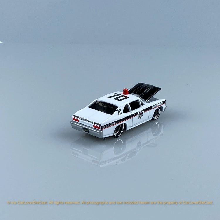 Bburago 1:64 Police 4 in 1 pack 15494  diecast car model