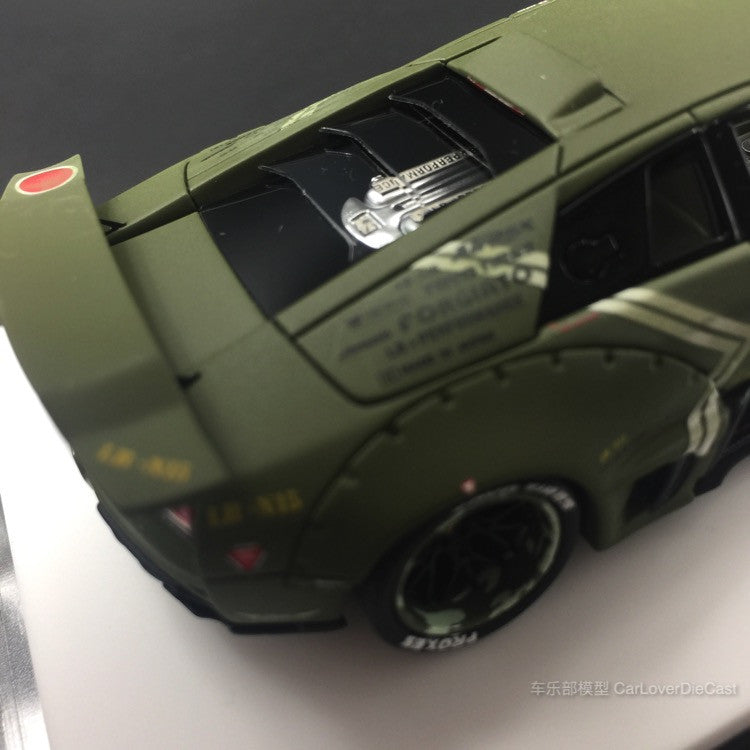 Davis & Giovanni - Murcielago LB works  Resin Scale 1:43 in Green limited 60pcs