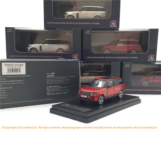LCD 1:64 LandRover RangeRover (Red) Diecast (LCD64002RE) available now
