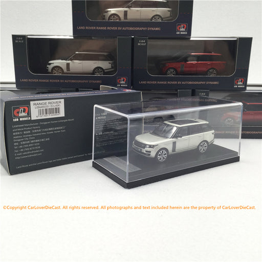 LCD 1:64 LandRover RangeRover (Silver) Diecast (LCD64002S) available now