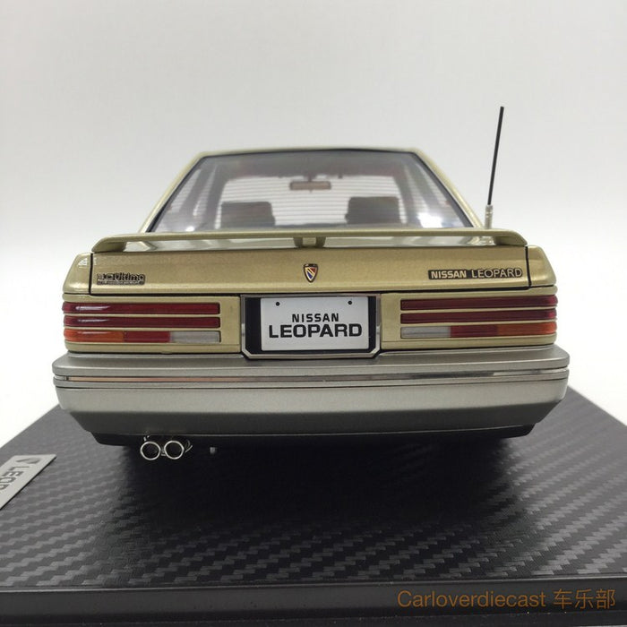 Ignition model - Nissan Leopard 3.0 Ultima (F31) Gold (BB-Wheel) Resin Scale 1:18 Available now (IG1012)