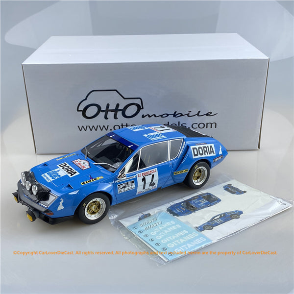 OttO Mobile 1:18 Alpine A310 1600 GR.4 Tour de Corse (OT813 ) Resin Car Model Limited 1500 units