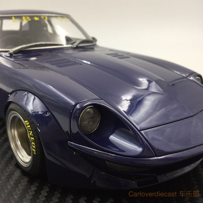 Ignition model - LB-works Fairlady Z (S30) (SS-Wheel) Blue / Gun Resin Scale 1:18 Available now (IG1099)