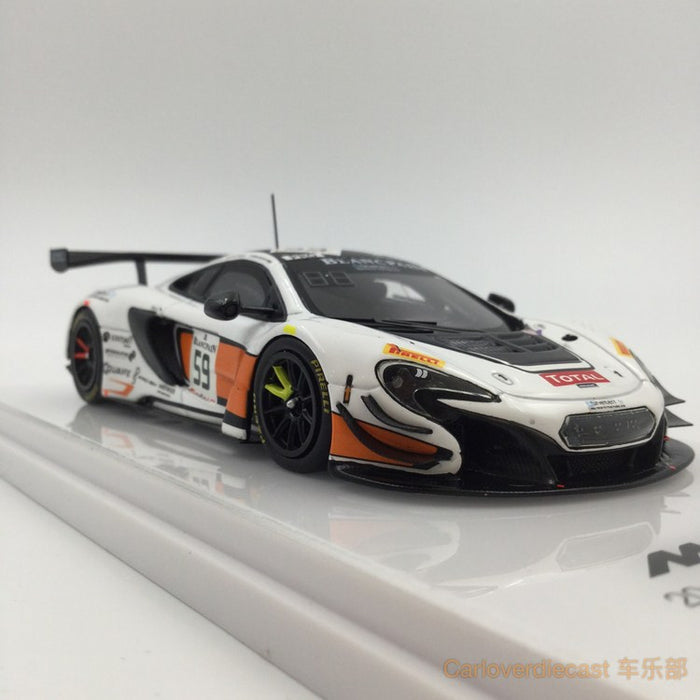 TSM-Model - McLaren 650S GT3 #59 2015 Total 24 Hours of Spa B. Senna resin Scale 1:43 available now (TSM164329)