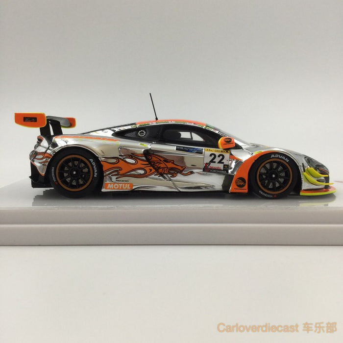 TSM-Model Mclaren 650S GT3 #22 2016 Super Taikyu Fuji Clearwater Racing resin scale 1:43 (TSM430194) available now