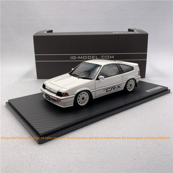 ignition model 1:18 Honda BALLADE SPORTS CR-X Si (E-AS) White (IG1629) resin car model available now